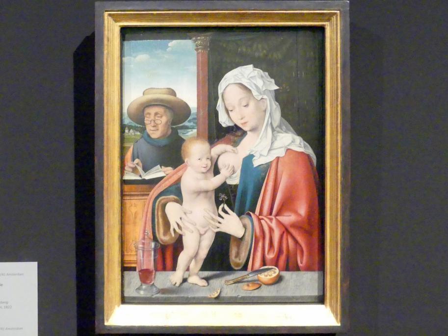 Joos van Cleve (Joos van der Beke): Die Heilige Familie, Um 1520 - 1530