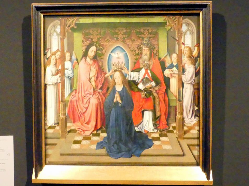Dieric Bouts d.Ä.: Krönung Mariä, nach 1460