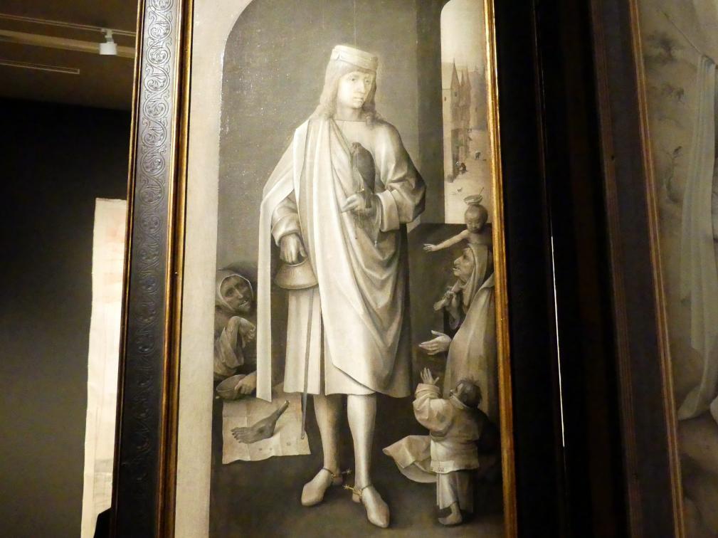 Hieronymus Bosch: Weltgerichts-Triptychon, um 1490 - 1505