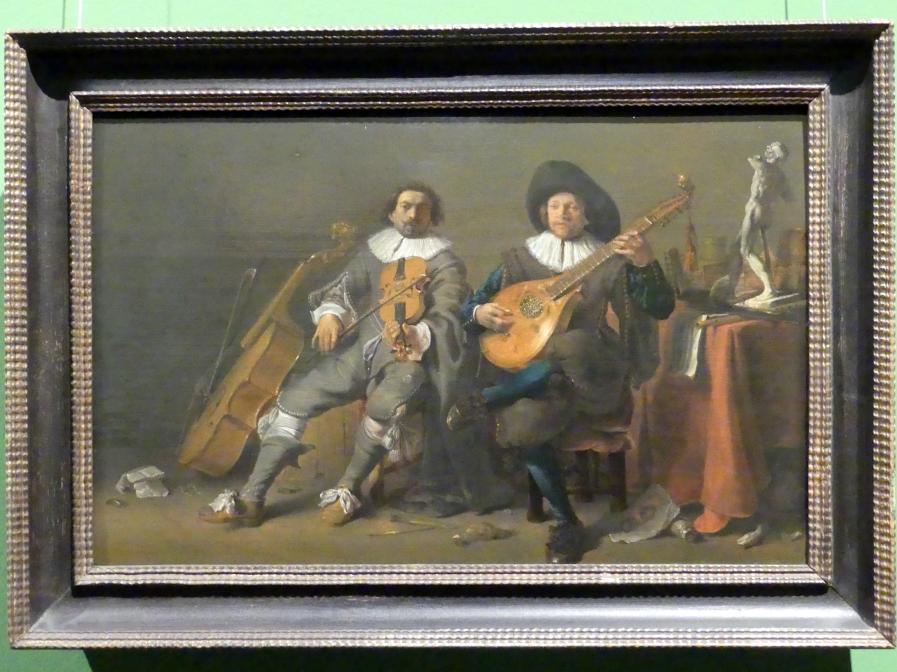 Cornelis Saftleven: Das Duett, um 1635
