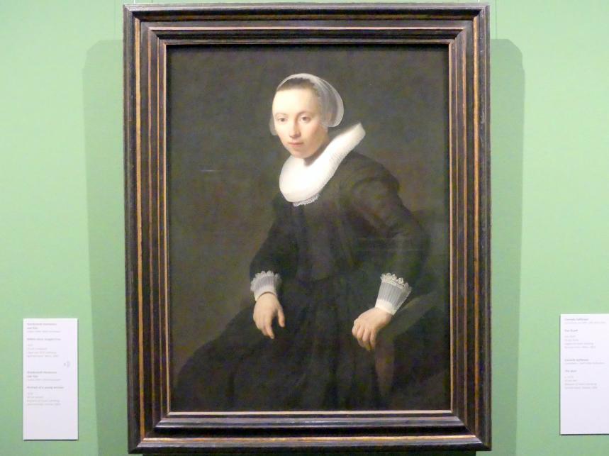 Rembrandt (Rembrandt Harmenszoon van Rijn): Bildnis einer jungen Frau, 1632