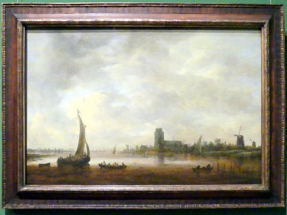 Jan van Goyen: Ansicht von Dordrecht, 1648
