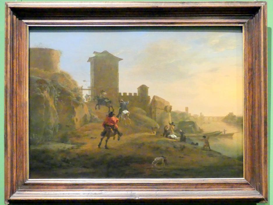 Jan Asselijn: Altes Kastell, 1647