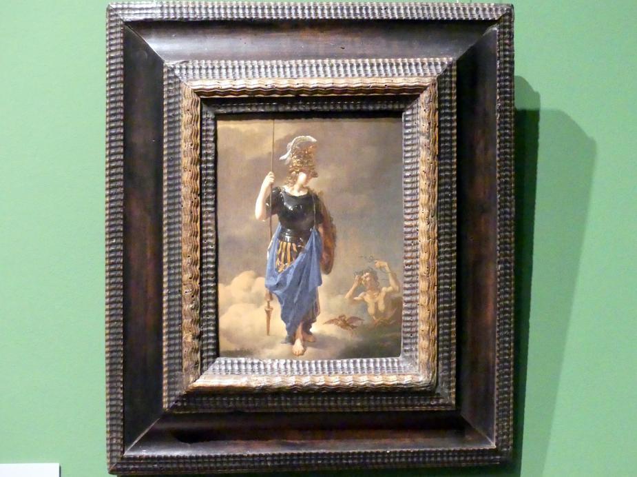 Karel Dujardin: Pallas Athene besucht Invidia, 1652
