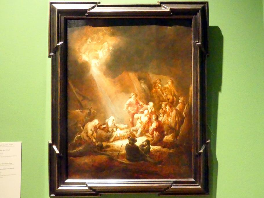 Benjamin Gerritsz. Cuyp: Anbetung der Hirten, um 1640 - 1645