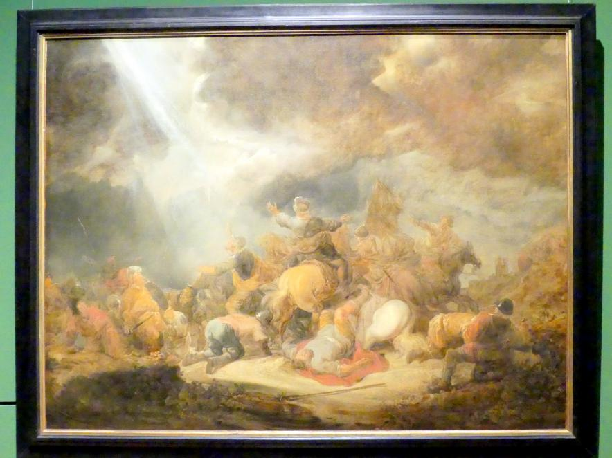 Benjamin Gerritsz. Cuyp: Die Bekehrung Sauls, Um 1640 - 1650