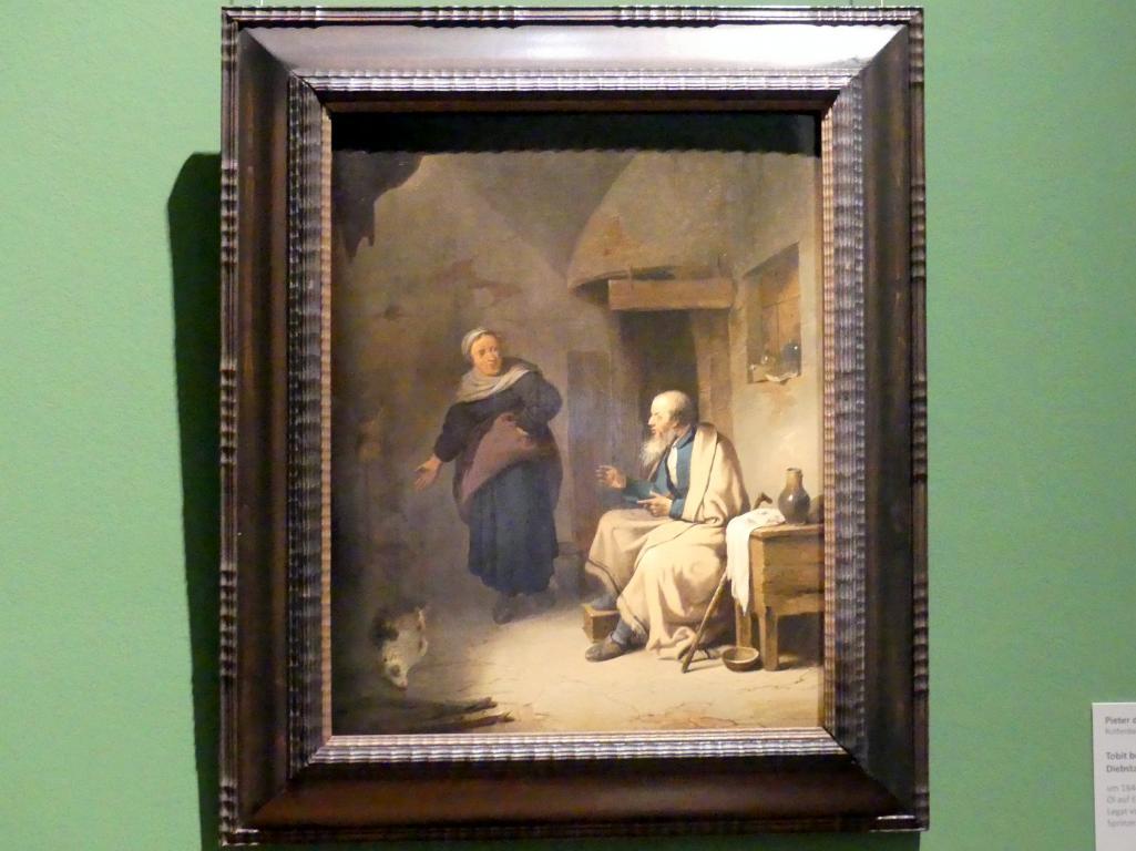 Pieter de Bloot: Tobit beschuldigt Anna des Diebstahls, um 1644