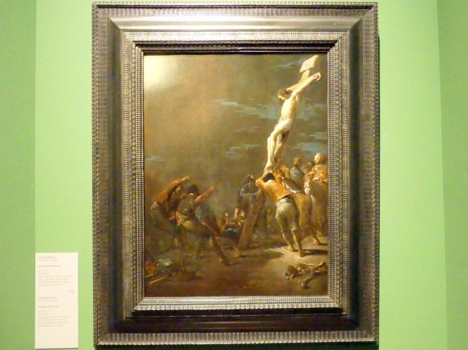 Leonaert Bramer: Die Kreuzaufrichtung, um 1635