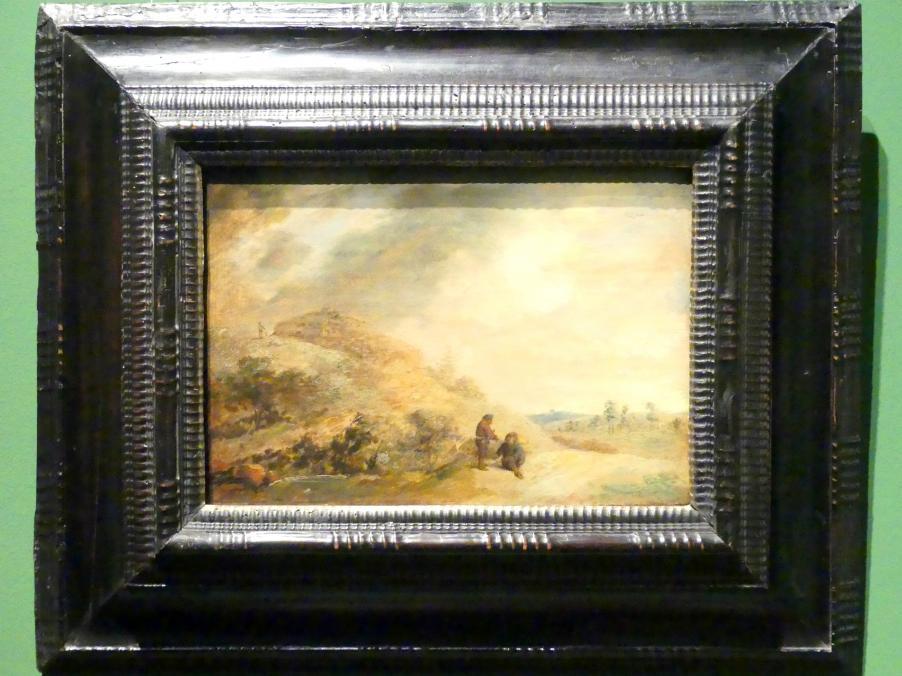 Adriaen Brouwer: Dünenlandschaft, um 1636 - 1638