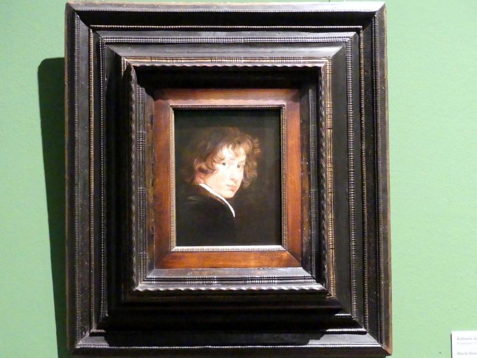 Anthonis (Anton) van Dyck: Selbstbildnis, um 1614