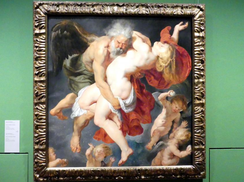Peter Paul Rubens: Boreas entführt Oreithya, um 1615