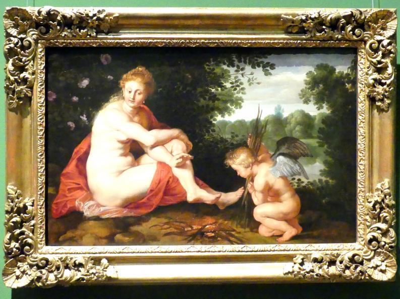 Peter Paul Rubens: Sine Cerere et Baccho friget Venus (Ohne Ceres und Bacchus friert Venus), um 1614, Bild 1/2