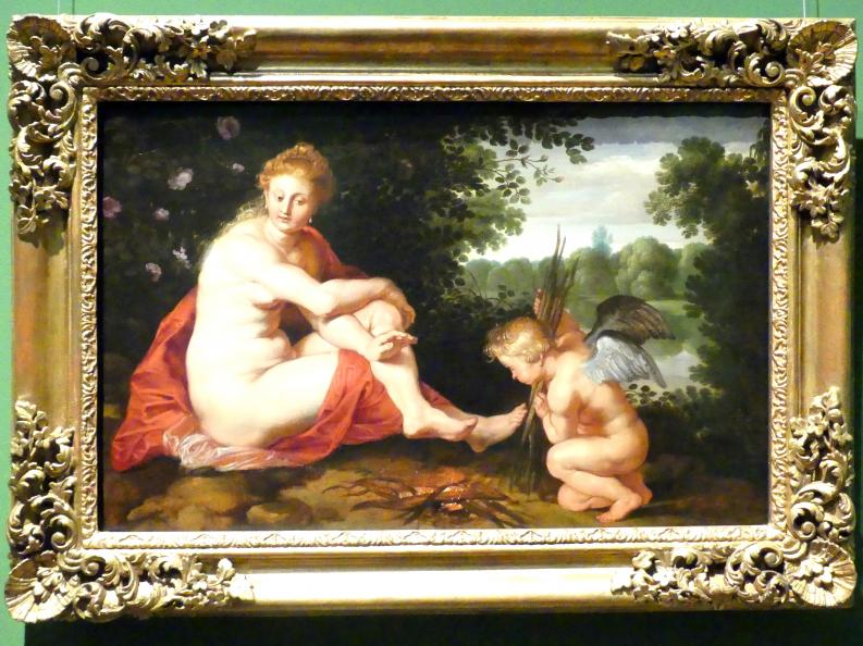 Peter Paul Rubens: Sine Cerere et Baccho friget Venus (Ohne Ceres und Bacchus friert Venus), um 1614