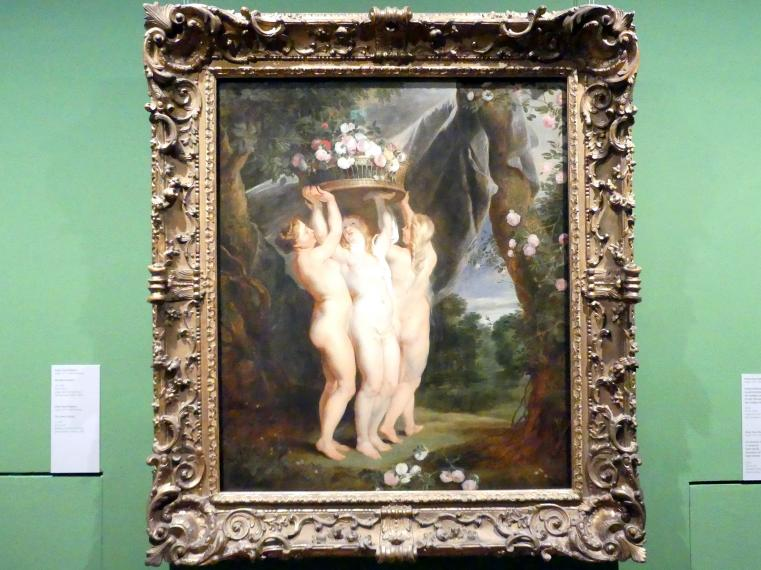 Peter Paul Rubens: Die drei Grazien, um 1626