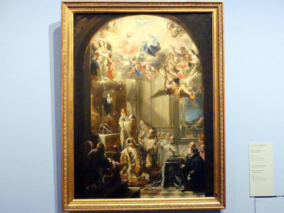 Juan Carreño de Miranda: Die Gründung des Trinitarierordens, um 1666