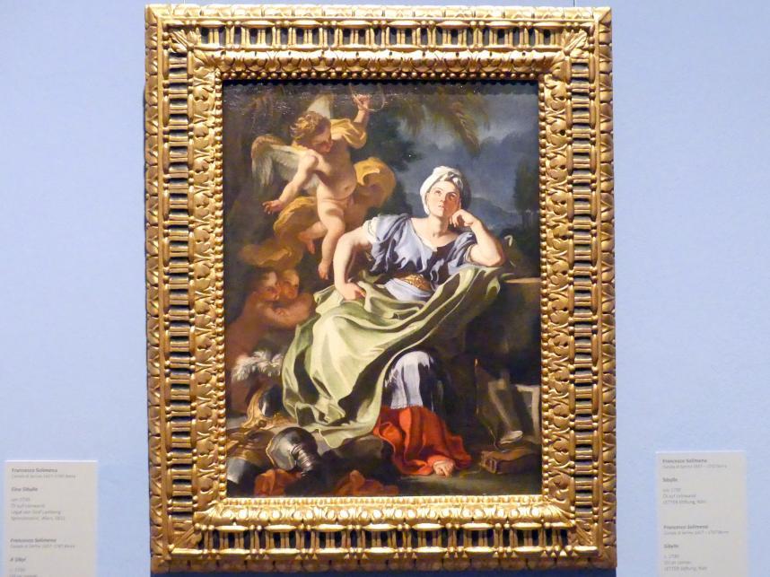 Francesco Solimena: Eine Sibylle, um 1730