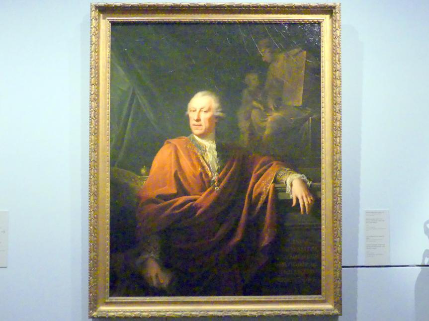 Johann Baptist Lampi der Ältere: Bildnis Joseph Freiherr von Sperges (Innsbruck 1725-1791 Wien oder Udine), 1787