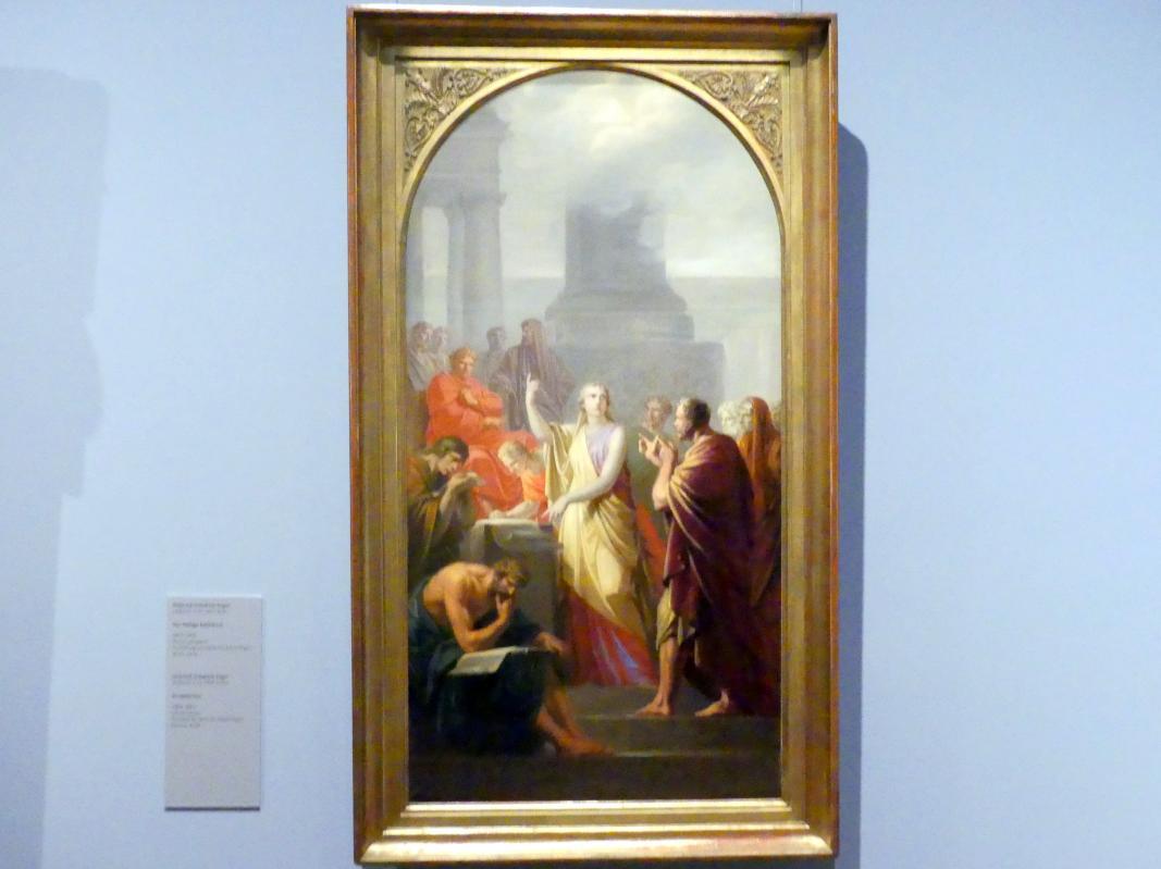 Heinrich Friedrich Füger: Die Heilige Katharina, 1803 - 1805