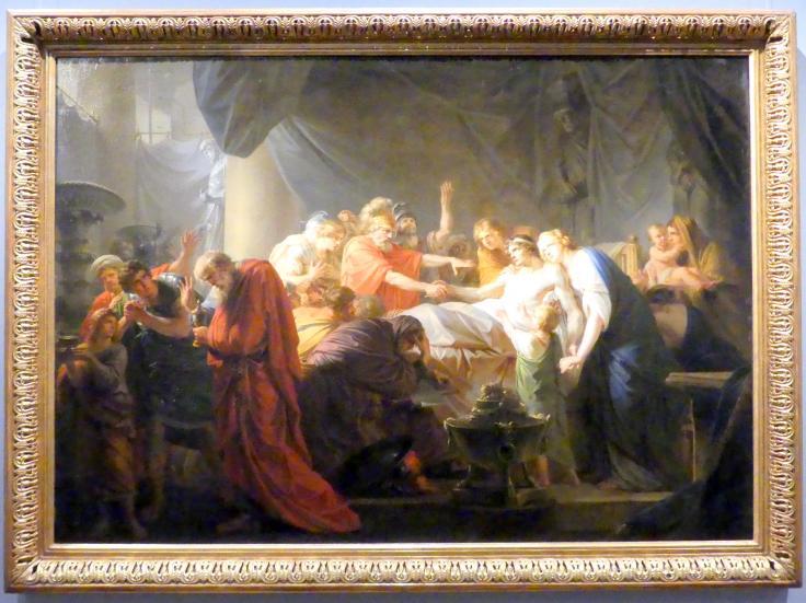Heinrich Friedrich Füger: Der Tod des Germanicus, 1789