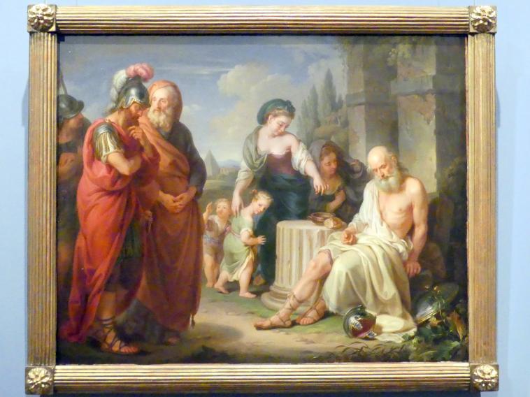 Franz Linder: Der blinde Belisar als Bettler, 1783