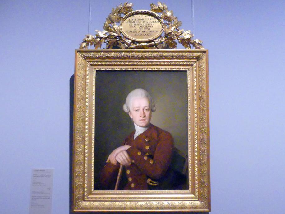 Christian Kollonitsch: Bildnis von Anton Graf Lamberg-Sprinzenstein (Wien 1740-1822 Wien), 1770