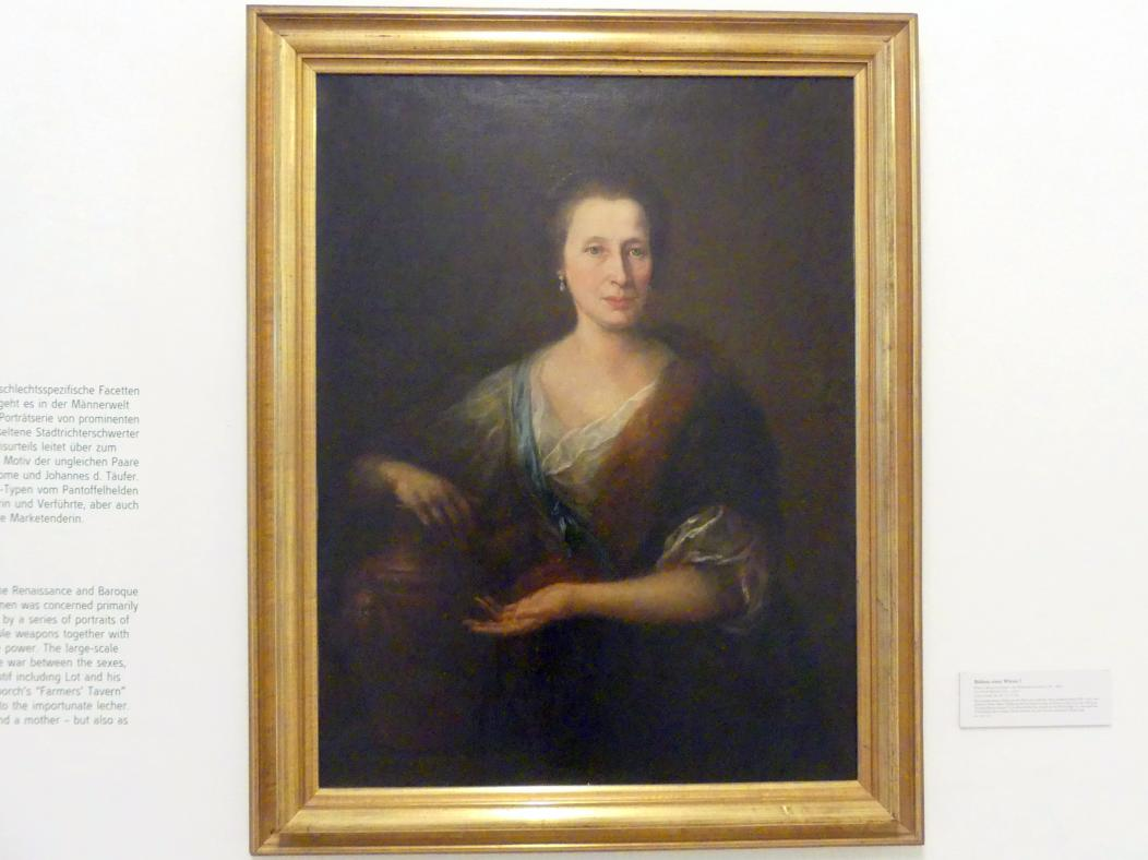 Martin Johann Schmidt (Kremser Schmidt): Bildnis einer Witwe ?, 1788