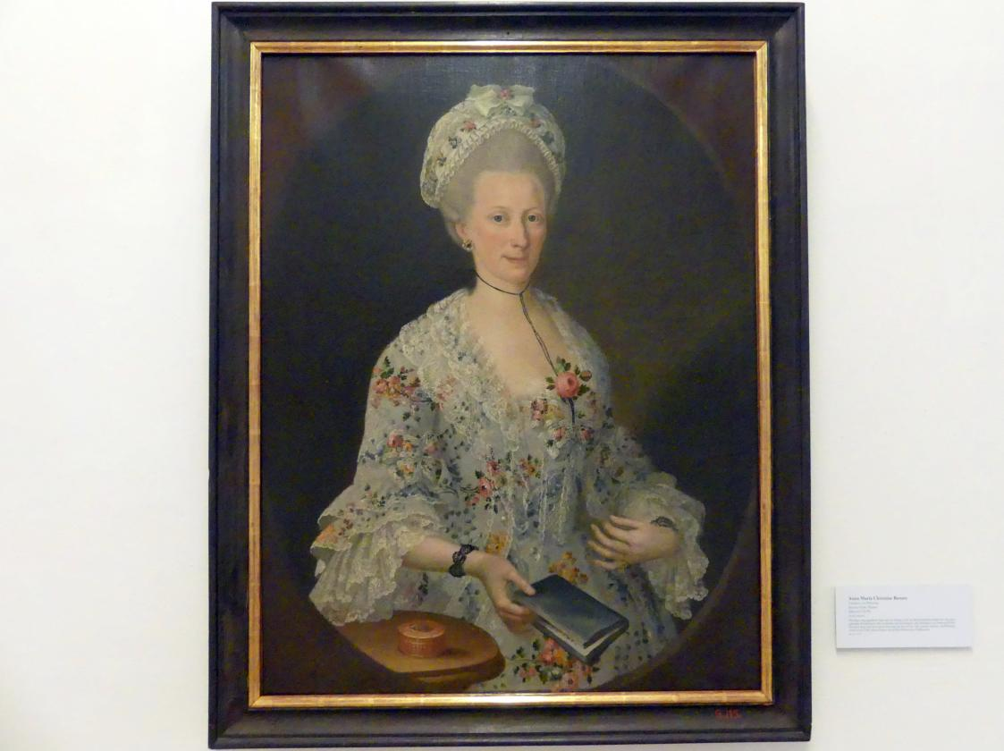 Johann Georg Tompke: Anna Maria Christina Renata Geislitzer von Wittweng, um 1750 - 1770