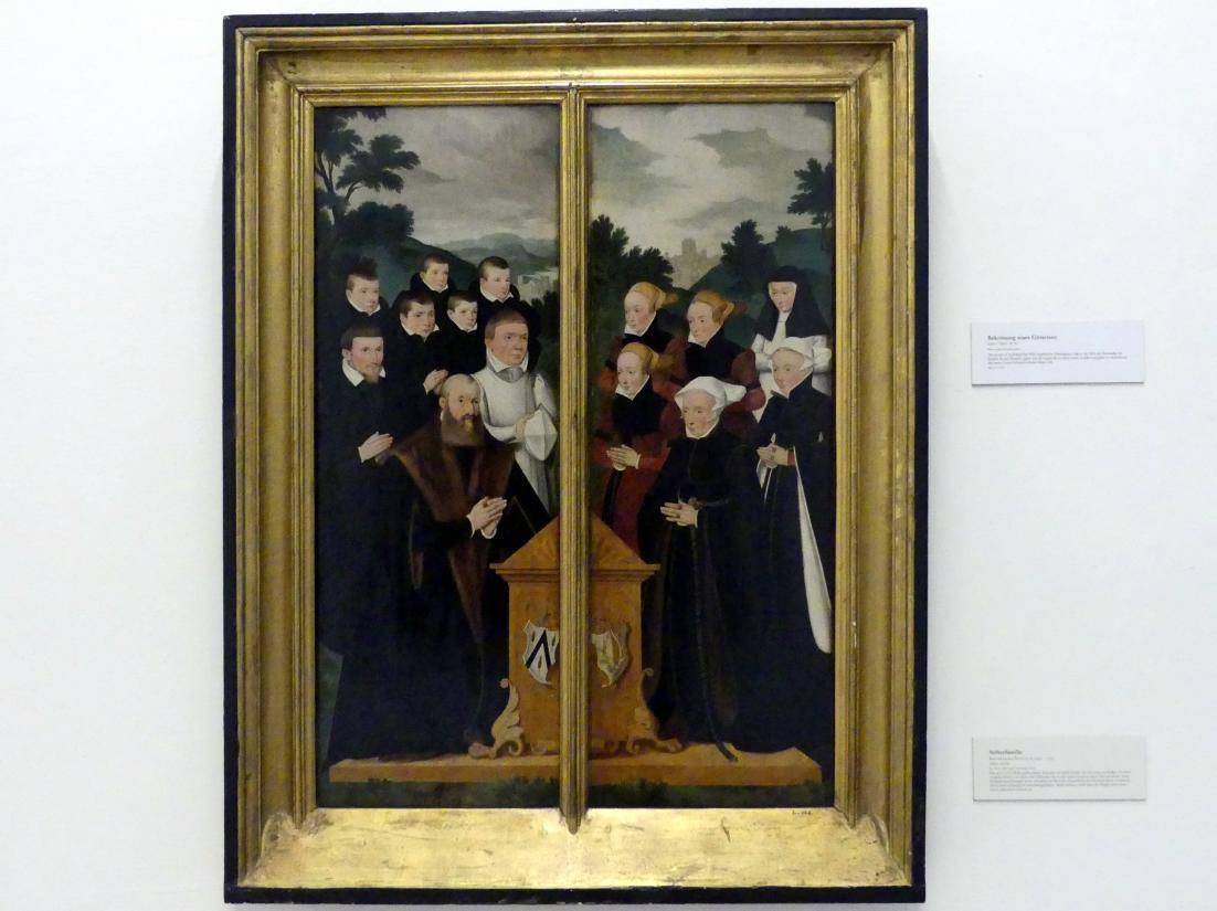 Bartholomäus Bruyn der Ältere: Stifterfamilie, Undatiert