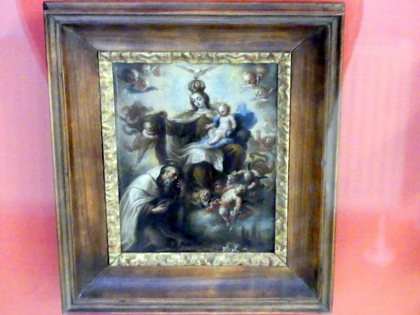 Die Madonna überreicht dem hl. Simon Stock das Skapulier, 1732
