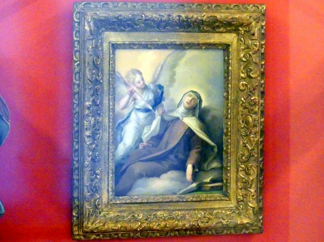Johann Evangelist Holzer: Verzückung der hl. Therese, Undatiert