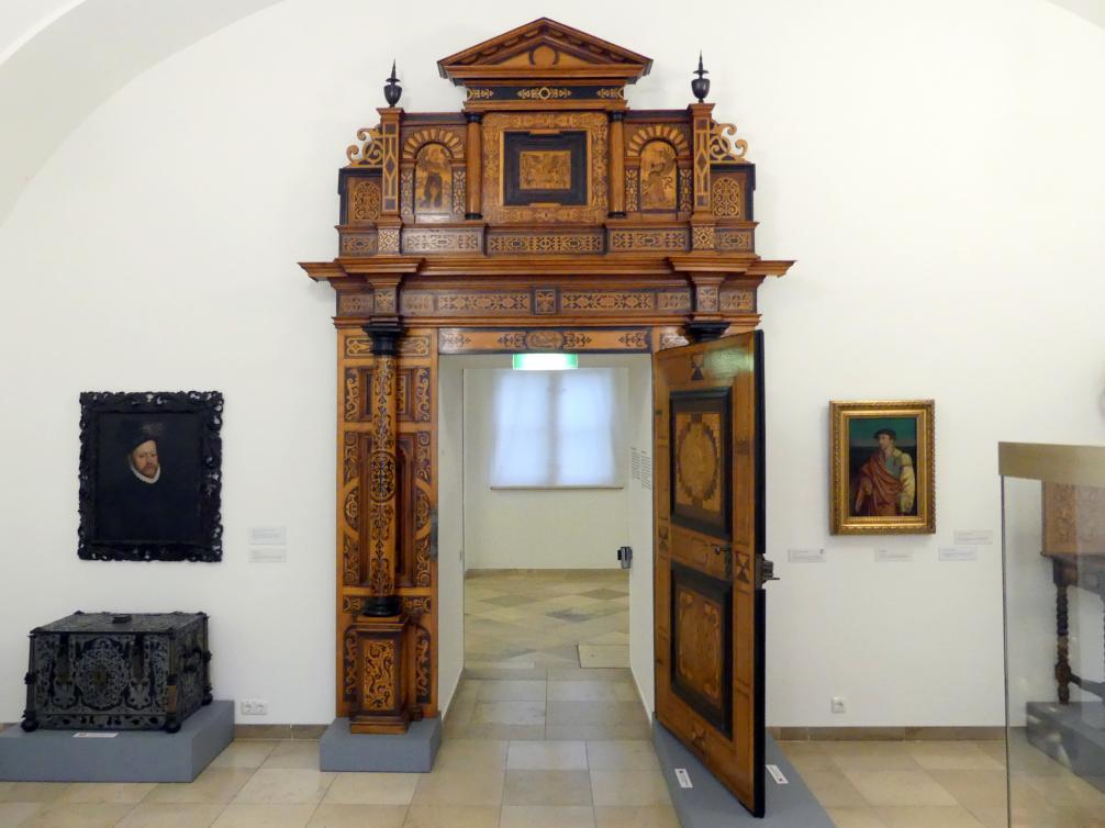 Portal aus Schloss Hartheim, nach 1598