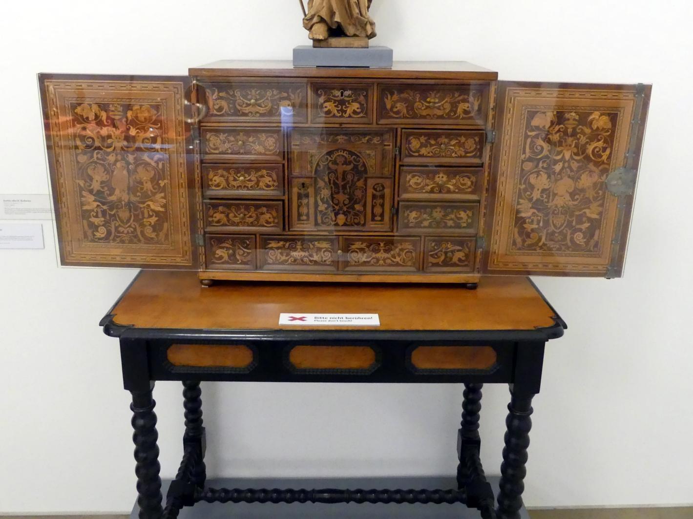 Schreibkabinett, Um 1600