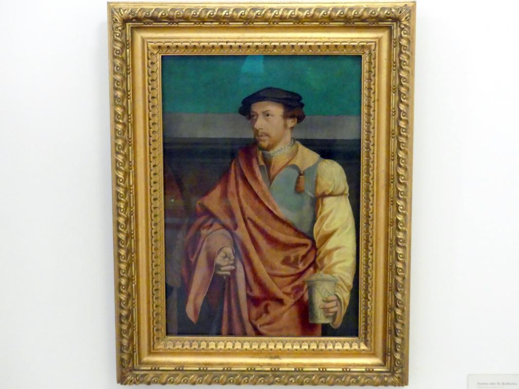 Bartholomäus Bruyn der Ältere: Mann mit Salbenbüchse, Undatiert