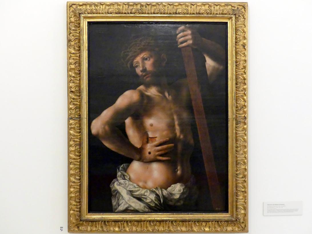 Jan Sanders van Hemessen: Christus als Schmerzensmann, 1540