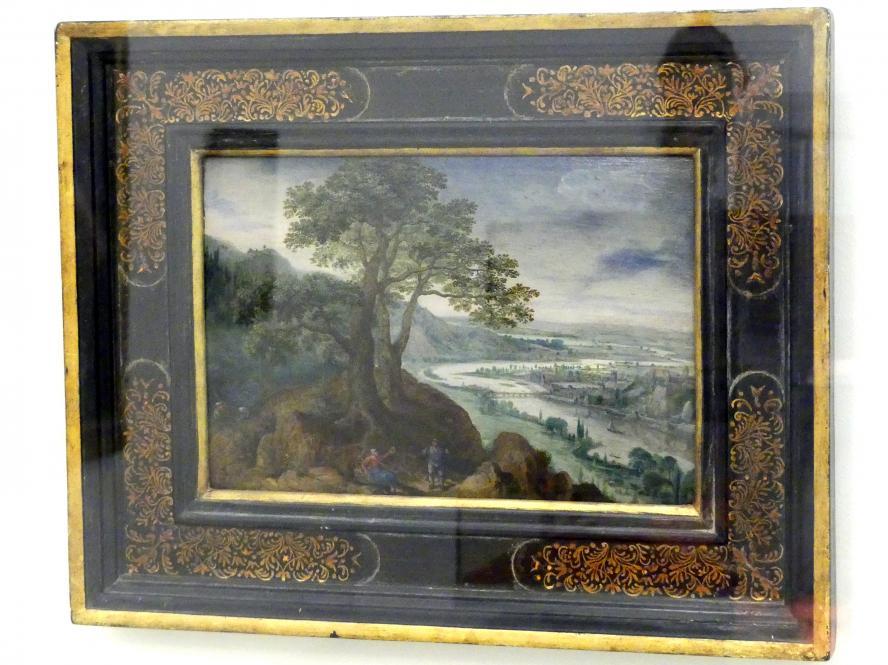 Lucas van Valckenborch: Blick auf Linz, nach 1593