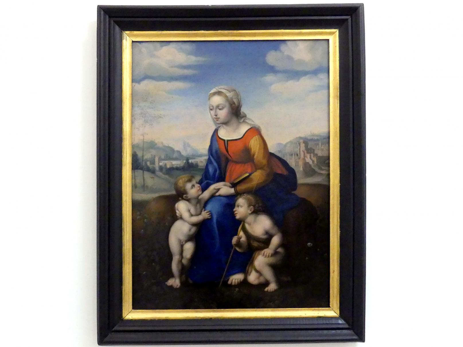 La Belle Jardinière (Die Schöne Gärtnerin), Um 1600