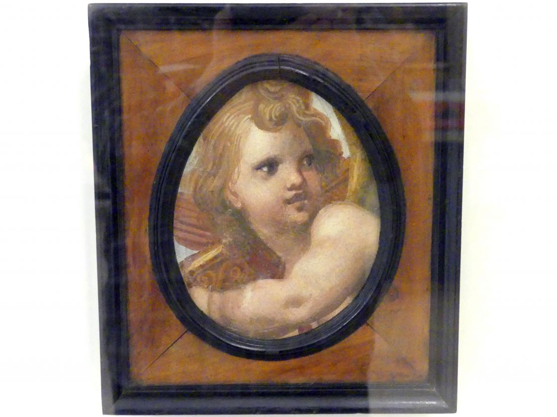 Antonio Allegri (Correggio): Engelskopf, um 1520