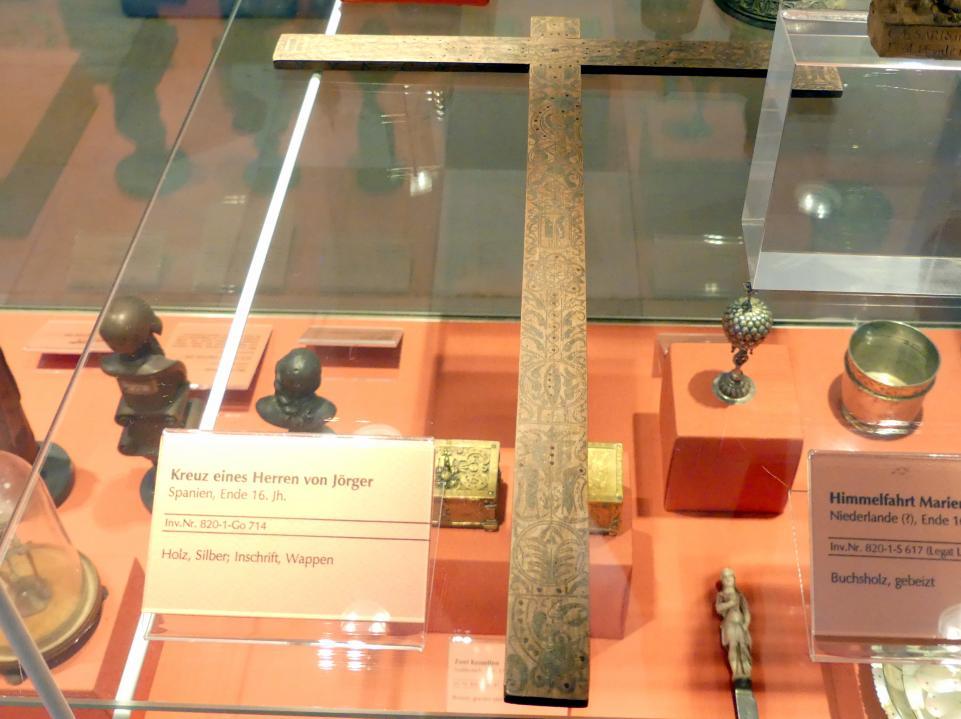 Kreuz eines Herrn von Jörger, Ende 16. Jhd.
