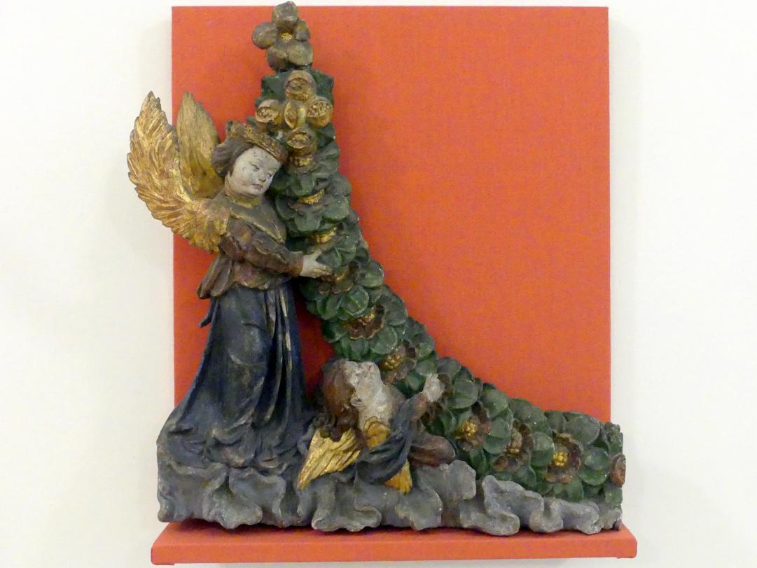 Engel mit Fruchtkranz, um 1520