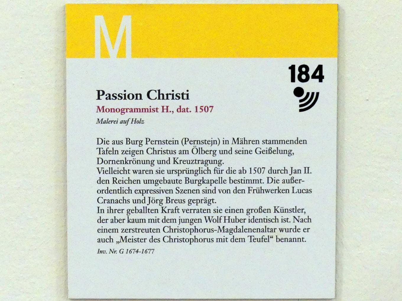 Passion Christi, 1507