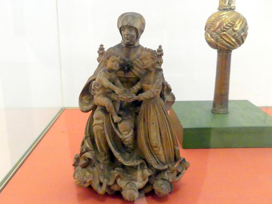 Meister der Altöttinger Türen (Matthäus Krinis?): Hl. Anna Selbdritt, Um 1515 - 1520
