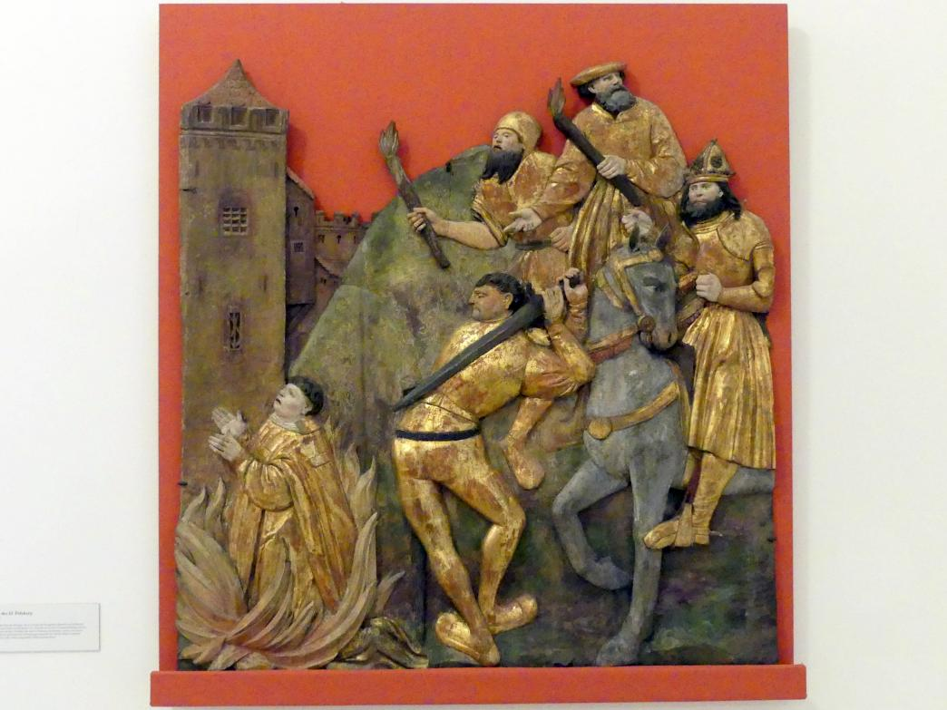 Martyrium des hl. Polykarp, Um 1515