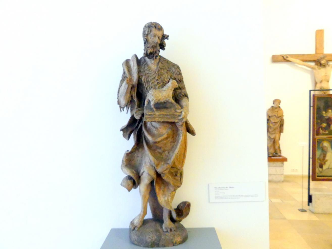 Hans Leinberger (Umkreis): Hl. Johannes der Täufer, Um 1515 - 1520