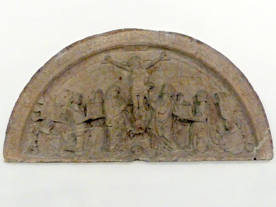 Kreuzigung mit Stiftern, Um 1525