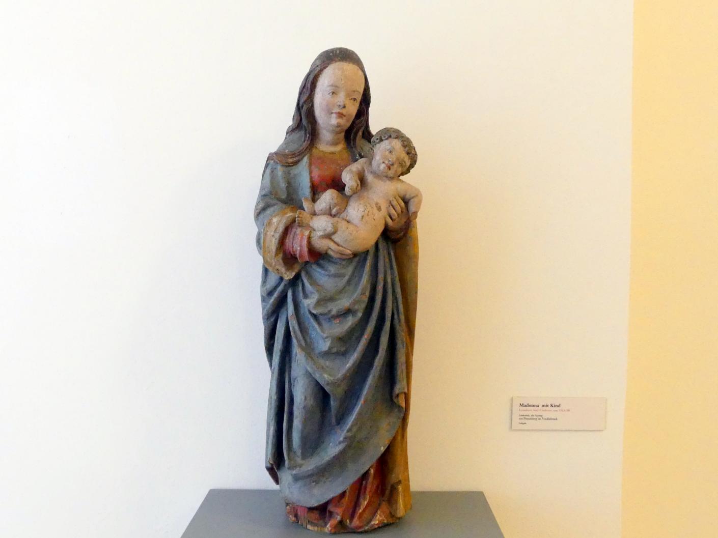 Lienhart Astl (Werkstatt): Madonna mit Kind, Um 1515 - 1520
