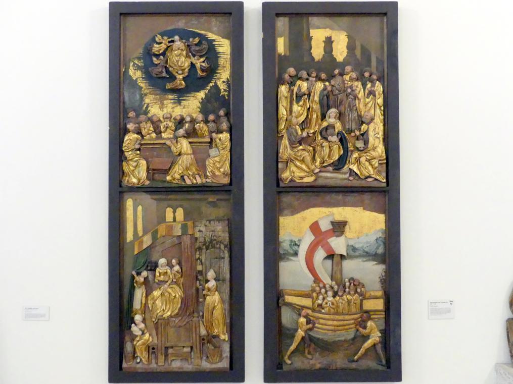Marienleben und Legende der Hl. Ursula, um 1515 - 1520