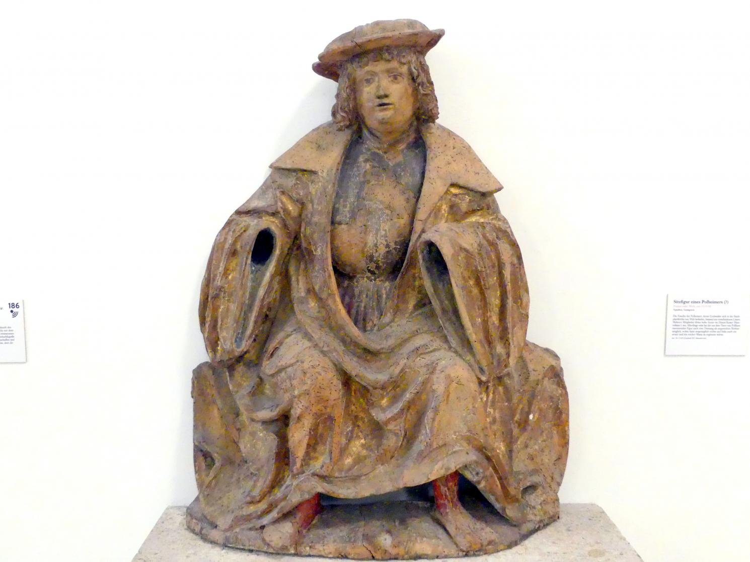 Sitzfigur eines Polheimers (?), um 1515 - 1520