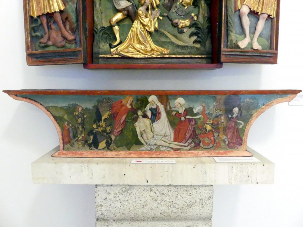 Beweinung Christi mit Stiftern, 1510 - 1517