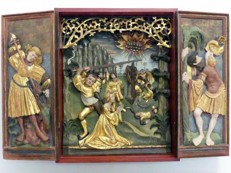 Katharinenaltärchen, Um 1515 - 1520