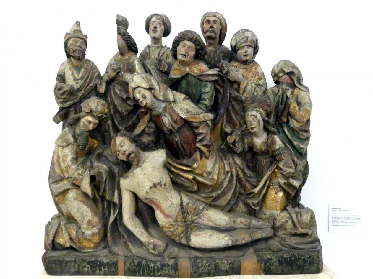 Meister der Zvíkover Beweinung: Beweinung, um 1510